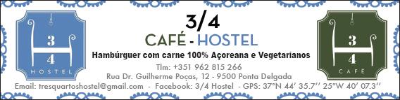 3/4 Café/Hostel