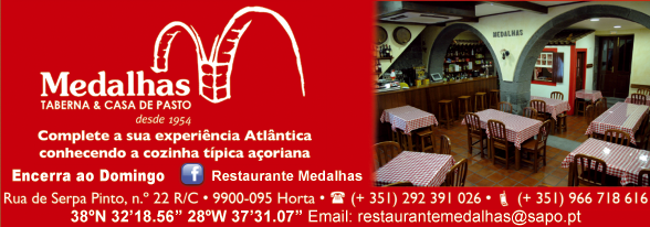 Restaurante Medalhas – Taberna & Casa de Pasto