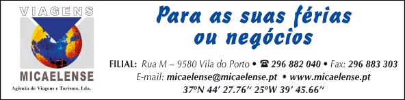 Viagens Micaelense – Agência de Viagens e Turismo, Lda (Filial Santa Maria)