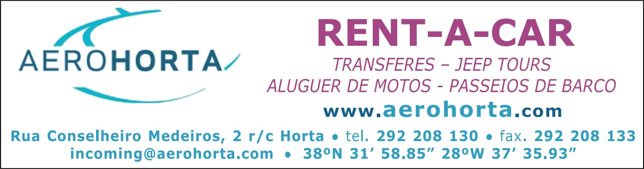 Aerohorta – Rent-a-Car (Faial)