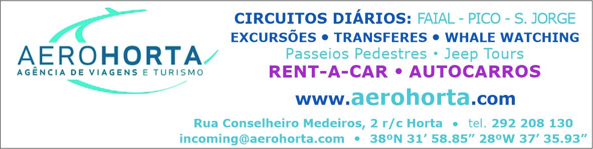 Aerohorta – Agência de Viagens e Turismo (Faial)