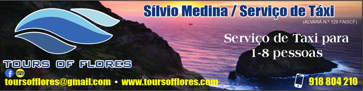 Sílvio Medina – Serviço de Táxi (Tours of Flores)