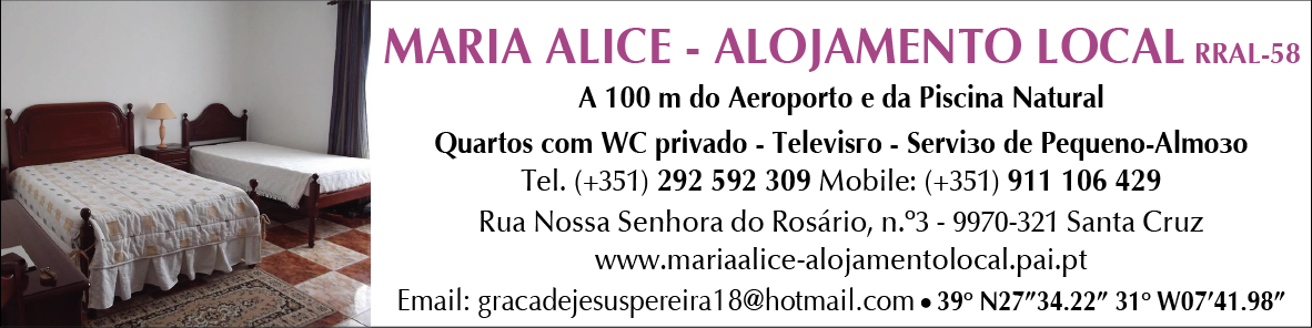 Maria Alice Alojamento Local – RRAL – 85